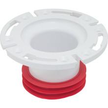 "Toilet Bowl Flange 4"" PVC"