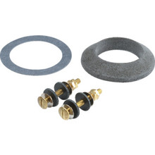 "Tank To Bowl Gasket and Hardware Kit 2"" Flush Valve Brass Bolts "" Package of 2"""