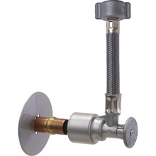 """ACCOR FlowTite R-Series Supply Stop Valve With 20"""" Faucet Connector Pkg/2"""