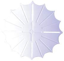 "Pool Anti-Entrapment Drain Cover, 13"" Star"