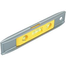 """Stanley 9"""" Aluminum Cast V-Grooved Magnetic Torpedo Level"""