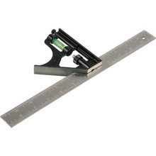 "Stanley 12"" Steel Combination Square"