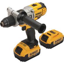 "DeWalt 1/2"" 20 Volt MAX Premium Cordless Lithium-Ion Hammer Drill/Driver Kit"