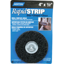 "Norton 4 x 1/2"" Rapid Paint And Rust Stripper"