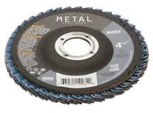 """Norton 4-1/2"""" T29 60-Grit Flap Disc"""