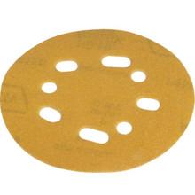 "Norton 5"" Medium 100-Grit 5 And 8 Vacuum Hole Hook-And-Loop Sanding Disc 25/Pk"