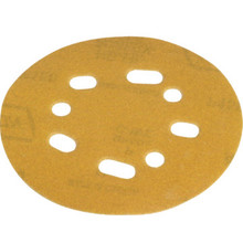 "Norton Fine 150-Grit 5"" 5 And 8 Vacuum Hole Hook-And-Loop Sanding Disc 25/Pk"