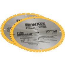 """DeWalt 10"""" Combo Saw Blade Pack"""