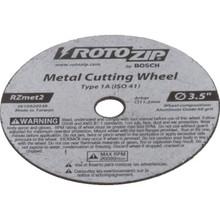 """RotoZip ZipMate 3-1/2"""" Metal Cut-Off Wheel"""