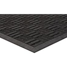 """36 x 59"""" Outdoor Floor Mat Black Apache Aqua Flow"""