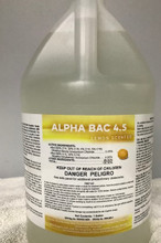 Alpha Bac 4.5 Lemon Disinfectant Concentrate