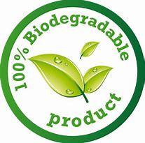 100% Bioderadable Logo