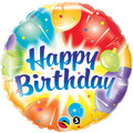 "18"" Happy Birthday Balloons"