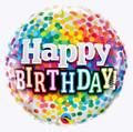 "18"" Happy Birthday Dots"