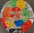 "18"" HBD Balloons Mylar"