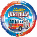 "18"" HBD  Fire Engine"