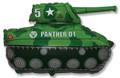 "28""  Military Tank - Green"