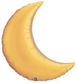 "36""  Crescent Moon - Gold"