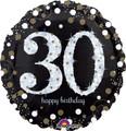 "28""  Sparkling 30 Birthday"