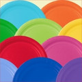 "10"" Solid Color Paper Plates (20ct)"