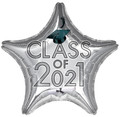 "18"" Class Of 2021 -Silver"