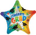 "18"" Congrats Grad Rainbow Starburst"
