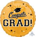 """18""""  Congrats Grad - Gold"""