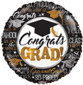 "18""  Congrats Well Done Grad"