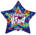 """36"""" Super Jumbo Congrats Grad Star"""