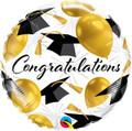 """18"""" Congratulations Grad Caps"""