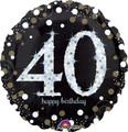 "28"" Jumbo Sparkling 40 Birthday"