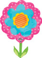 "29"" JUMBO Pink/Blue Spring Flower"
