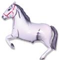 "42""  Horse - TWhite"