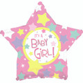 "18"" Its A Girl Many Stars"