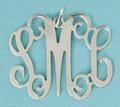 Monogrammed Necklace- Medium