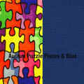 Puzzle Pieces & Blue