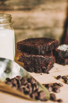 Fudgy Brownie Mix (with a dairy free option)