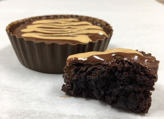 Peanut Butter Truffle Gourmet Brownies (1 case of 12)