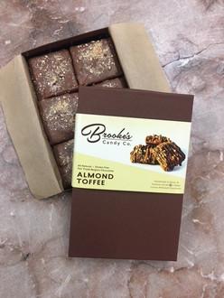 Almond Toffee Gift Box 12 oz.  6 pc. (Free Shipping)