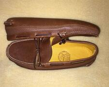 'Ole Maine Comfort Classic-Double Sole--Deerskin Lined-Honey