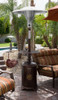 "TFPS Patio Heaters 87"" Tall Outdoor Hammered Bronze Cast Aluminum Patio Heater - TFPS-HLDS01-CAL"