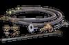 "Warming Trends Crossfire Manual Lit System with a 290K BTU Natural Gas or LP Burner  36"" Plate - Fittings - CFB290LPALPL36CDFLKV34FIT250"