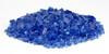 1/4 inch Cobalt Blue Classic Fire Glass 2