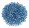 1/4 inch Pacific Blue Classic Fire Glass 1