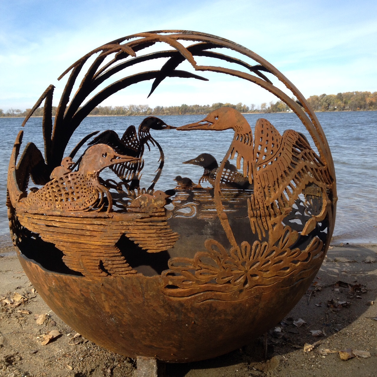 Beautiful Artistic Fire Pit Fireball Globes You Didn't ...