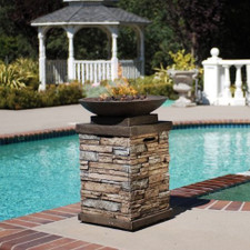 Bond Newcastle Propane Gas Fire Bowl With Cover - 63172