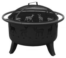 Landmann Patio Lights Deer Fire Pit Black - 23192