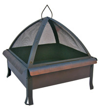 Landmann Tudor Firepit with Cover Bronze - 25413
