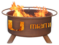 Patina Products - University of Miami College Fire Pit - F225