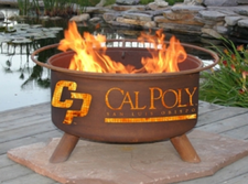 Patina Products - Cal Poly San Luis Obispo College Fire Pit - F235